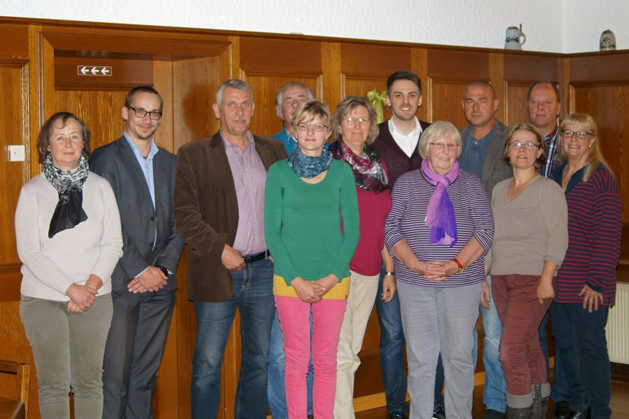 Vorstand SPD Ortsverein Friedeburg